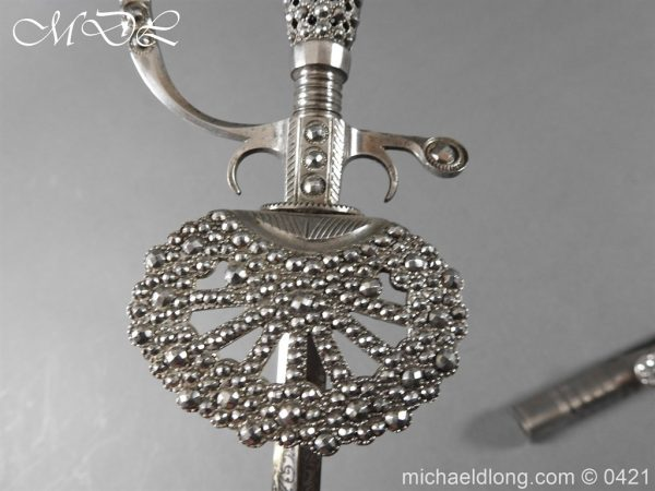 michaeldlong.com 16919 600x450 British Cut Steel Small Sword