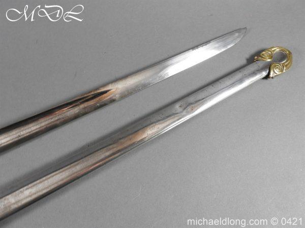 michaeldlong.com 17030 600x450 British 1832 pattern 2nd Life Guards Officer's Dress Sword