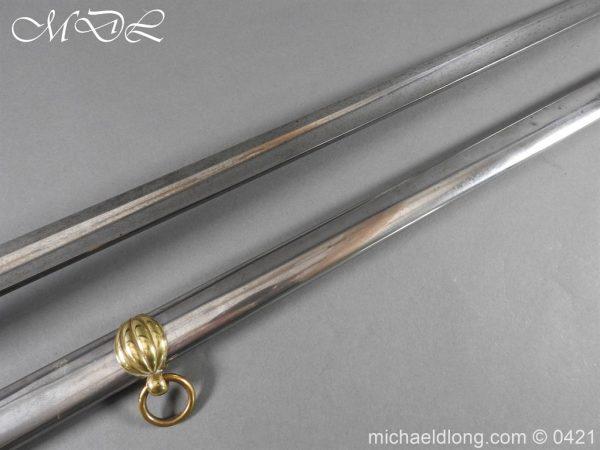 michaeldlong.com 17033 600x450 British 1832 pattern 2nd Life Guards Officer's Dress Sword