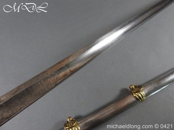 michaeldlong.com 17041 600x450 British 1832 pattern 2nd Life Guards Officer's Dress Sword