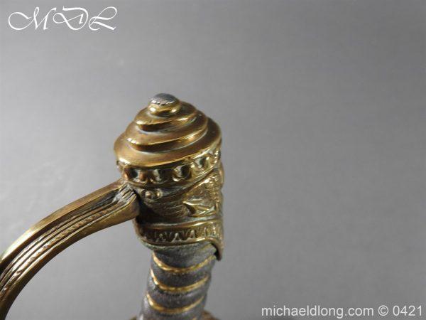 michaeldlong.com 17050 600x450 British 1832 pattern 2nd Life Guards Officer's Dress Sword