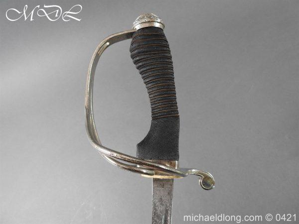 michaeldlong.com 17077 600x450 10th Hussars Officer's Sword by Wilkinson Sword