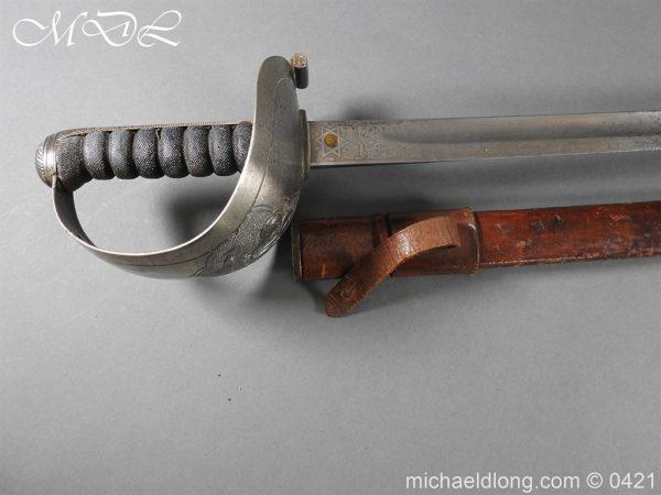 michaeldlong.com 17311 600x450 10th Hussars Officer's Sword