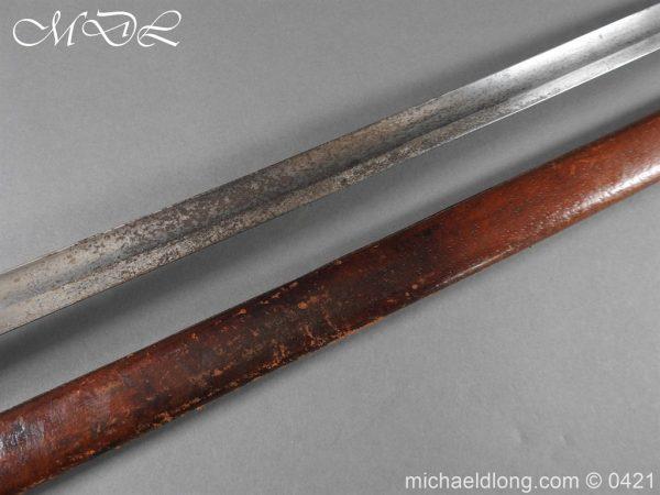 michaeldlong.com 17312 600x450 10th Hussars Officer's Sword