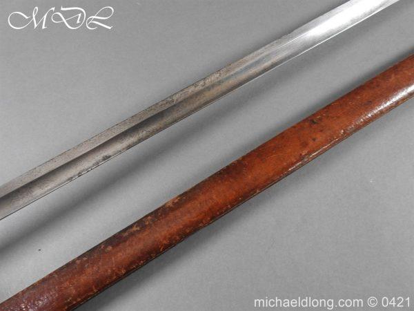 michaeldlong.com 17316 600x450 10th Hussars Officer's Sword