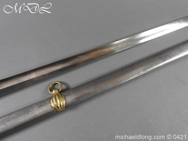 michaeldlong.com 17383 600x450 Royal Horse Guards 1832 Officer's Dress Sword