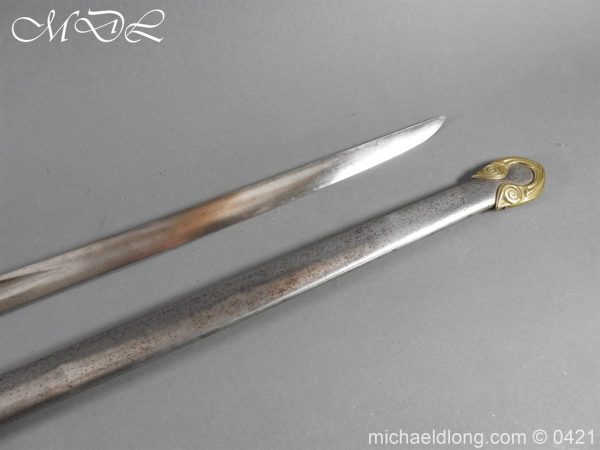 michaeldlong.com 17384 600x450 Royal Horse Guards 1832 Officer's Dress Sword