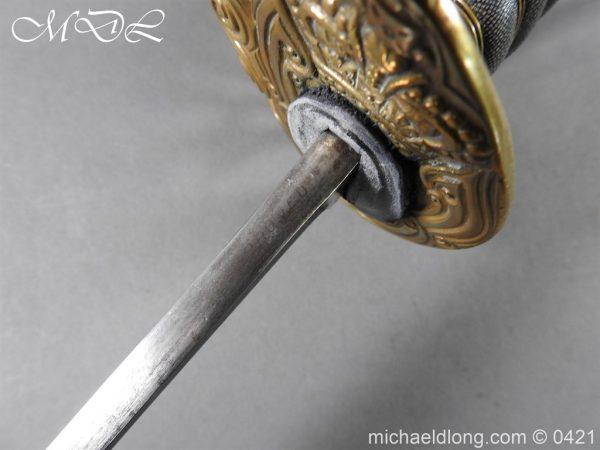 michaeldlong.com 17400 600x450 Royal Horse Guards 1832 Officer's Dress Sword