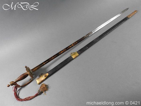 michaeldlong.com 17413 600x450 British 1796 Infantry Blue & Gilt Officer's sword