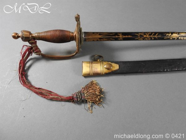 michaeldlong.com 17414 600x450 British 1796 Infantry Blue & Gilt Officer's sword