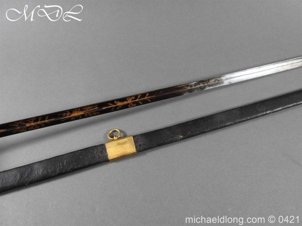 michaeldlong.com 17415 600x450 British 1796 Infantry Blue & Gilt Officer's sword