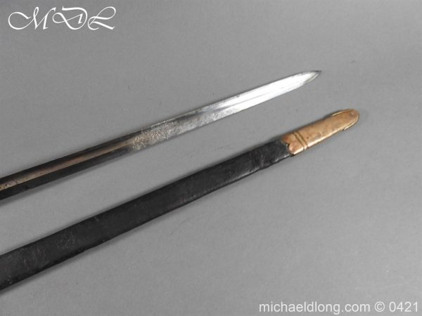 michaeldlong.com 17416 600x450 British 1796 Infantry Blue & Gilt Officer's sword
