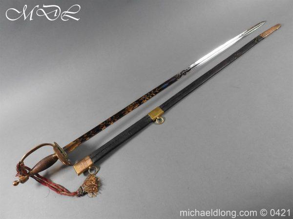 michaeldlong.com 17417 600x450 British 1796 Infantry Blue & Gilt Officer's sword