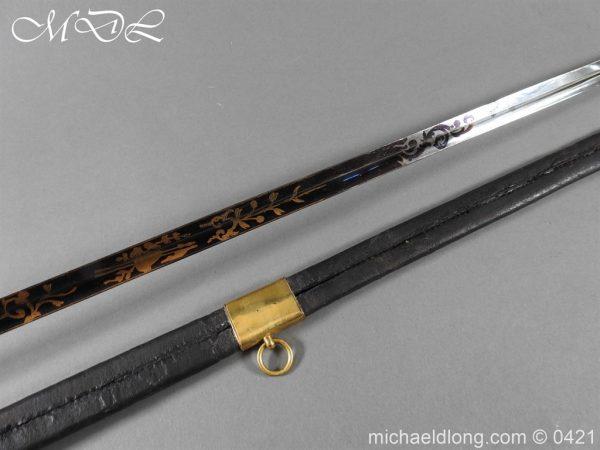 michaeldlong.com 17419 600x450 British 1796 Infantry Blue & Gilt Officer's sword