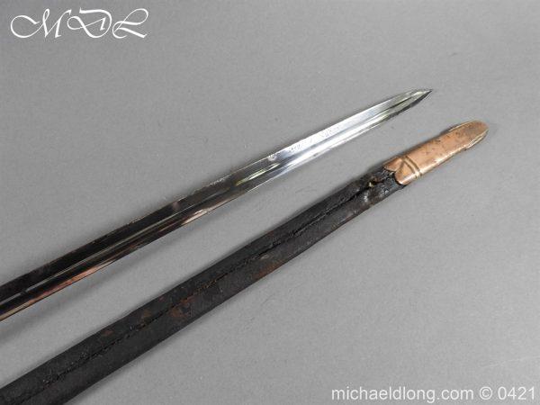 michaeldlong.com 17420 600x450 British 1796 Infantry Blue & Gilt Officer's sword