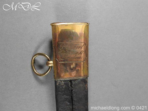 michaeldlong.com 17423 600x450 British 1796 Infantry Blue & Gilt Officer's sword