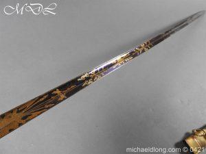 michaeldlong.com 17426 300x225 British 1796 Infantry Blue & Gilt Officer's sword