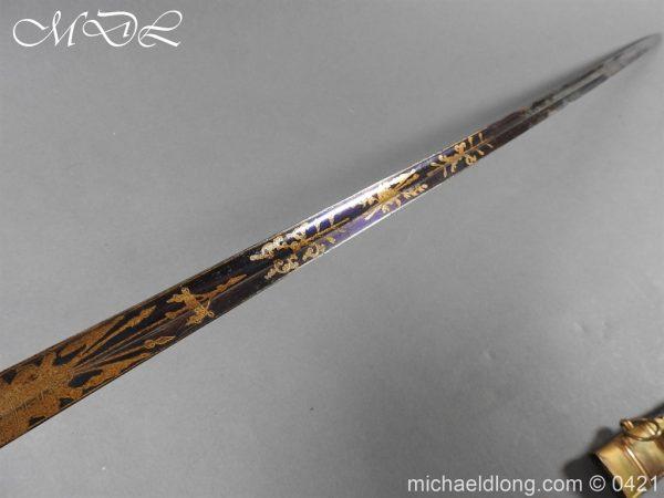 michaeldlong.com 17426 600x450 British 1796 Infantry Blue & Gilt Officer's sword