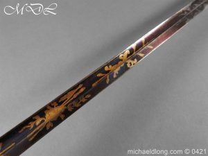 michaeldlong.com 17428 300x225 British 1796 Infantry Blue & Gilt Officer's sword