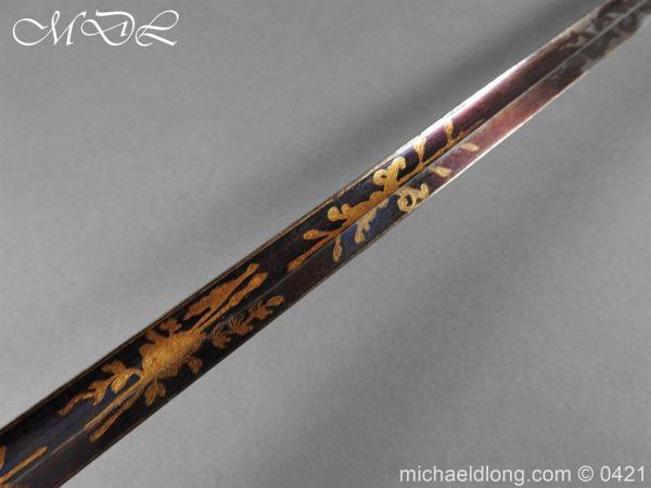 michaeldlong.com 17428 600x450 British 1796 Infantry Blue & Gilt Officer's sword