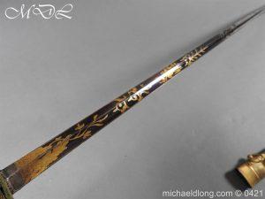 michaeldlong.com 17430 300x225 British 1796 Infantry Blue & Gilt Officer's sword