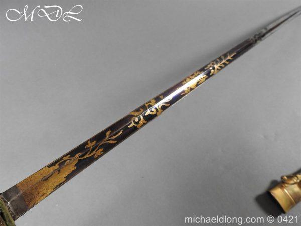 michaeldlong.com 17430 600x450 British 1796 Infantry Blue & Gilt Officer's sword