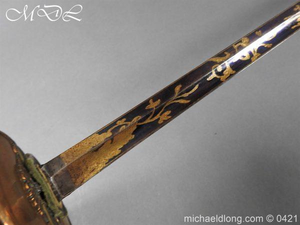 michaeldlong.com 17431 600x450 British 1796 Infantry Blue & Gilt Officer's sword