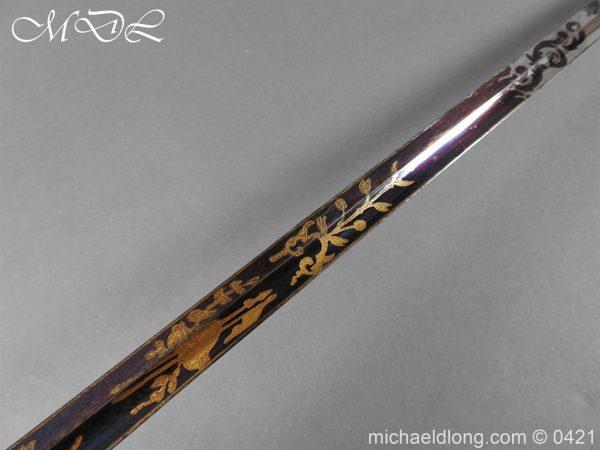 michaeldlong.com 17432 600x450 British 1796 Infantry Blue & Gilt Officer's sword