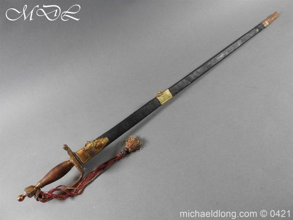 michaeldlong.com 17439 600x450 British 1796 Infantry Blue & Gilt Officer's sword