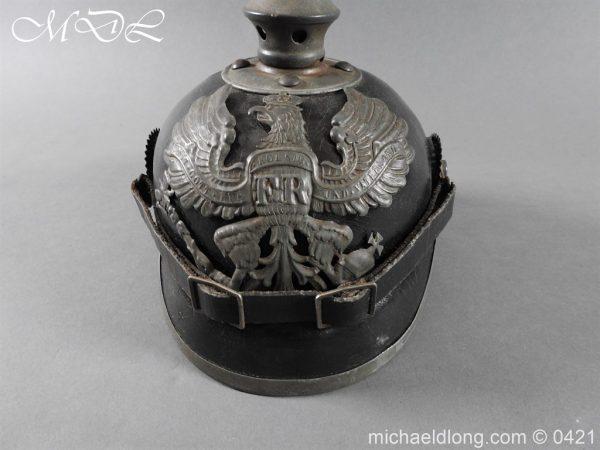 michaeldlong.com 17490 600x450 Prussian Infantry Pickelhaube