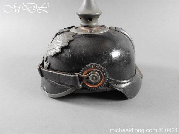 michaeldlong.com 17494 600x450 Prussian Infantry Pickelhaube
