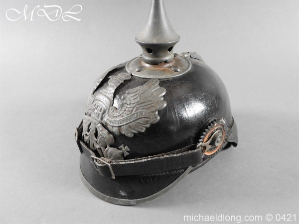 michaeldlong.com 17495 600x450 Prussian Infantry Pickelhaube