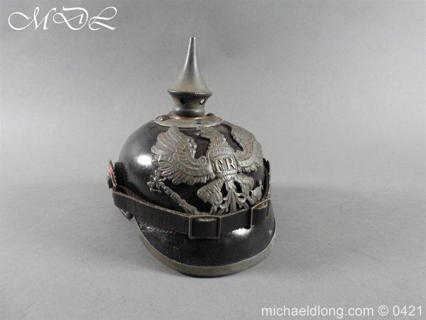 michaeldlong.com 17499 600x450 Prussian Infantry Pickelhaube