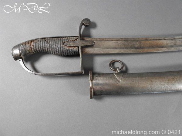 michaeldlong.com 17533 600x450 1788 British Trooper Light Cavalry Sword