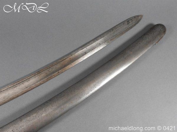 michaeldlong.com 17535 600x450 1788 British Trooper Light Cavalry Sword