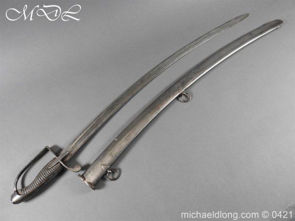 michaeldlong.com 17536 600x450 1788 British Trooper Light Cavalry Sword