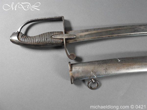 michaeldlong.com 17537 600x450 1788 British Trooper Light Cavalry Sword
