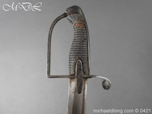 michaeldlong.com 17549 300x225 1788 British Trooper Light Cavalry Sword