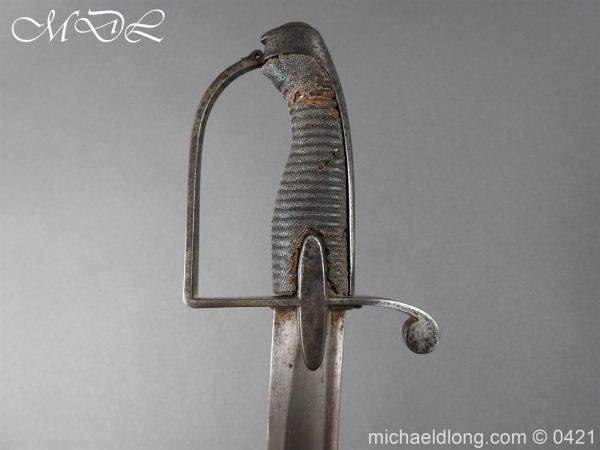 michaeldlong.com 17549 600x450 1788 British Trooper Light Cavalry Sword