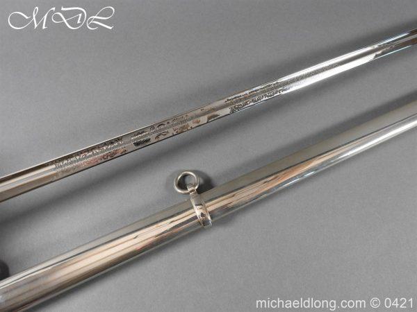 michaeldlong.com 17559 600x450 British 1912 12th Lancers Officer's Sword