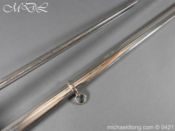 michaeldlong.com 17563 600x450 British 1912 12th Lancers Officer's Sword