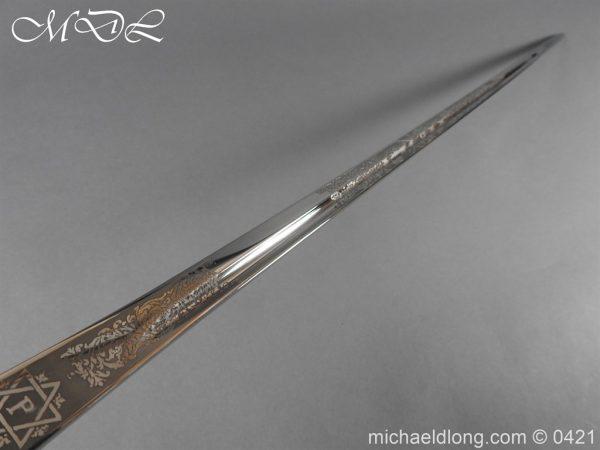 michaeldlong.com 17573 600x450 British 1912 12th Lancers Officer's Sword