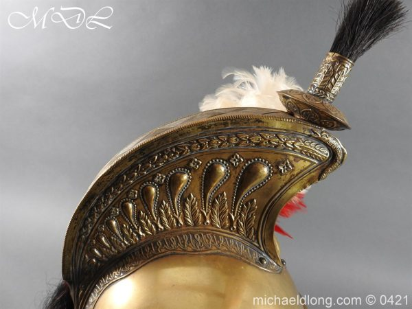 michaeldlong.com 17595 600x450 French Dragoon Officer's Helmet