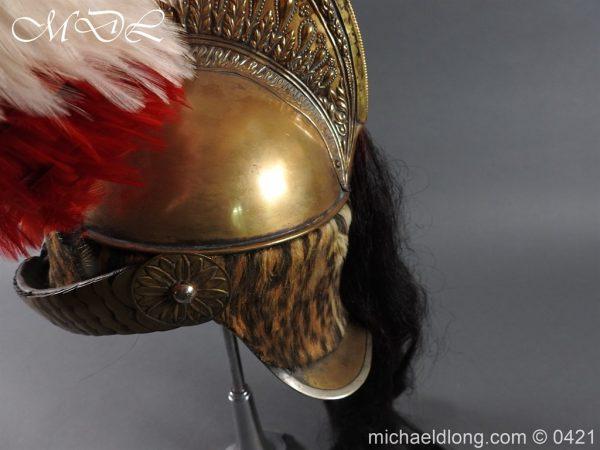 michaeldlong.com 17600 600x450 French Dragoon Officer's Helmet