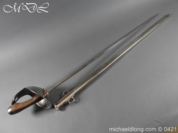 michaeldlong.com 17611 600x450 British 1908 Troopers Sword by Wilkinson