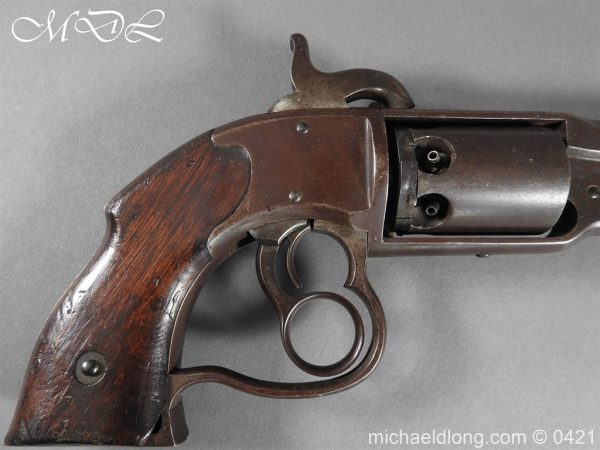 michaeldlong.com 17683 600x450 Savage Navy Model Six Shot Revolver