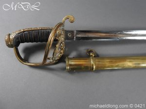 michaeldlong.com 17698 300x225 Royal Scots Fusiliers 21st Foot Officer's Sword
