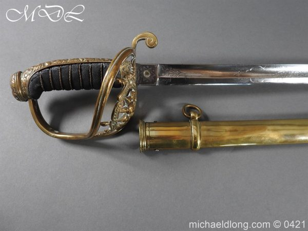 michaeldlong.com 17698 600x450 Royal Scots Fusiliers 21st Foot Officer's Sword
