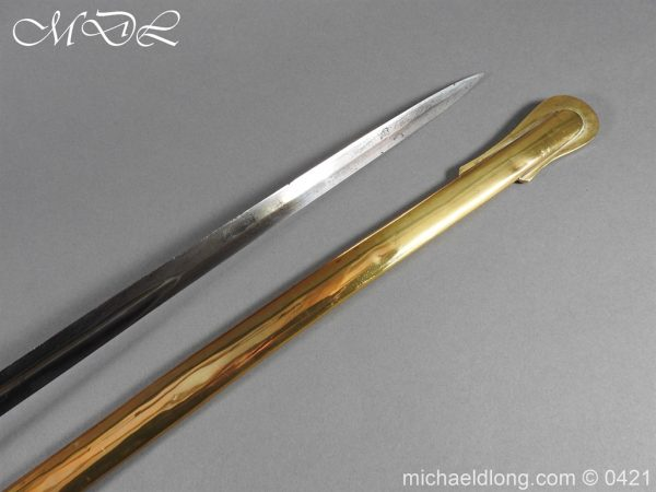 michaeldlong.com 17704 600x450 Royal Scots Fusiliers 21st Foot Officer's Sword