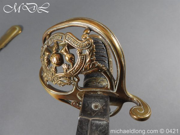 michaeldlong.com 17720 600x450 Royal Scots Fusiliers 21st Foot Officer's Sword